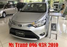 Bán Toyota Vios E CVT khuyến mãi cực sốc, giảm tiền mặt trên giá xe, tặng phụ kiện chính hãng. LH Ms Trang 096 938 2010