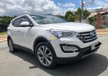Bán xe cũ Hyundai Santa Fe 2.4 AT sản xuất 2015, màu trắng