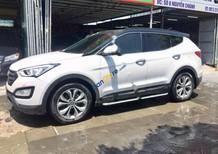 Bán ô tô Hyundai Santa Fe sản xuất năm 2015, màu trắng, giá chỉ 965 triệu