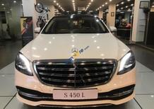 Cần bán Mercedes S450L năm 2018, màu trắng giá tốt