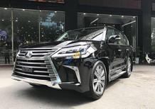 Bán Lexus Lx 570 Trung Đông sản xuất năm 2018, màu đen, nhập khẩu nguyên chiếc