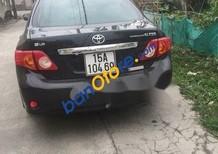 Cần bán xe Toyota Corolla Altis đời 2009, màu đen xe gia đình