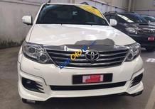 Bán xe Toyota Fortuner TRD, màu trắng 2015, số tự động giá rẻ