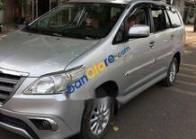 Bán xe Toyota Innova 2.0 E ĐK 2014, màu bạc