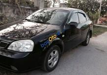 Bán xe Daewoo Lacetti năm 2005, màu đen đẹp như mới