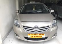 Bán ô tô Toyota Vios 1.5 E 2013, màu vàng cát