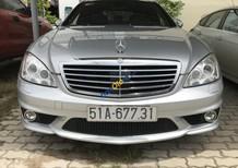 Bán xe Mercedes-Benz S63 AMG Designo, màu bạc, bao đúng 52.000km
