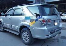 Bán xe Toyota Fortuner đời 2014, màu bạc, xe số sàn máy dầu, biển số SG