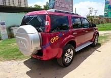 Cần bán gấp Ford Everest sản xuất năm 2010, màu đỏ, 497 triệu