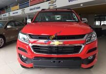 Bán ô tô Chevrolet Colorado LT AT 2.5 sản xuất năm 2018, màu đỏ, nhập khẩu