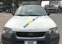 Bán xe Ford Escape AT XLT 3.0 2003, 2 cầu điện 4x4, màu trắng