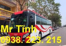 Cần bán Thaco Universe Tb120S W336E4 2018 45-47 chỗ, màu đỏ trắng EURO4, máy nhỏ 336ps mới