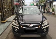 Cần bán lại xe Chevrolet Captiva LT đời 2008, màu đen