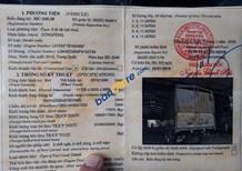 Bán xe tải Dongfeng 4 chân nhập khẩu đời 2015 tải 17.9 tấn