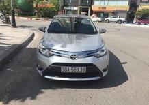 Cần bán Toyota Vios G đời 2015, màu bạc, giá 499tr