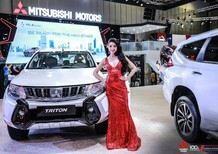 Bán Mitsubishi Triton 2.4 AT sản xuất năm 2018, màu trắng, xe nhập