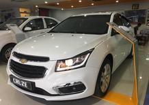 Bán xe Chevrolet Cruze 1.8L năm sản xuất 2017, màu trắng