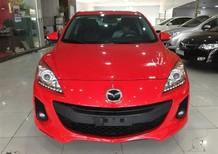 Cần bán Mazda 3 1.6AT sản xuất 2014, màu đỏ