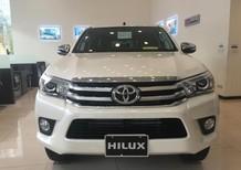 Toyota Hilux 2.4G 4x4 2018, nhiều màu giao ngay, giao xe tháng 9/2018, hỗ trợ trả góp tới 80%