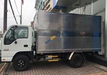 Bán xe tải Isuzu 2.4 tấn thùng kín, thùng mui các loại giá cả cạnh tranh, LH: Ms Linh 0968.089.522