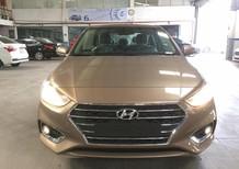 Cần bán Hyundai Accent 1.4 số tự động màu vàng cát ,xe giao nhanh