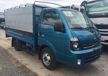 Bán xe tải Kia K250 thùng mui bạt, màu xanh lam, hoàn toàn mới 100%
