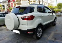 Cần bán gấp Ford EcoSport 1.5AT Titanium 2015, màu trắng