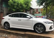 Bán xe Hyundai Elantra 1.6 turbo màu trắng, động cơ tăng áp