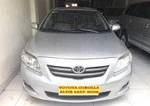Cần bán Toyota Corolla altis 1.8 G AT 2009, màu bạc, giá tốt