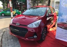 [ Hyundai Quận 4] Xe Grand I10 Hatchback 1.2 MT màu đỏ siêu hot