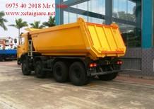 Bán xe Ben Kamaz 6540 (8x4) thùng 15 khối giá rẻ chính sách hỗ trợ vay lên đến 90%