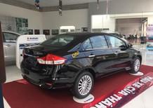 Bán Suzuki Ciaz dòng sedan hạng B mới 100% sản xuất năm 2018, màu đen, nhập khẩu