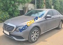 Cần bán gấp Mercedes E200 năm sản xuất 2017, màu xám, nhập khẩu nguyên chiếc