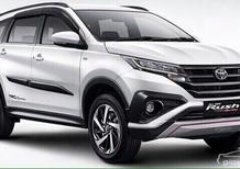 Toyota Rush 7 chỗ 2018, màu trắng, nhập khẩu chính hãng