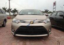 Bán ô tô Toyota Vios E năm 2018, màu vàng, giá tốt