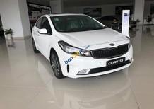 Bán Kia Cerato sản xuất 2018, màu trắng, giá tốt nhất Tây Ninh - hỗ trợ vay 80%. Hotline: 0938.907.127 Trí