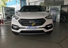 Cần bán Hyundai Santa Fe 2.4 MPI sản xuất năm 2018, màu trắng