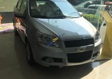 Bán Chevrolet Aveo LT năm 2018, màu bạc