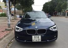 Bán BMW 1 Series 116i sản xuất 2014, màu xanh lam, xe cũ, máy êm, chạy khoẻ