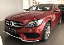 Bán Mercedes C300 sản xuất năm 2018, màu đỏ, chính chủ