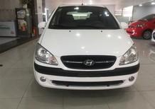 Cần bán Hyundai Getz đời 2009, màu trắng, xe nhập, 195 triệu