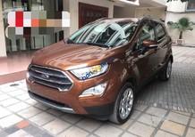 Bán ô tô Ford EcoSport Titanium năm 2018, màu nâu, giá tốt