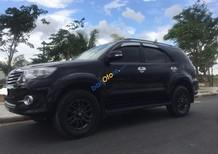 Bán xe Toyota Fortuner V năm 2015, màu đen giá cạnh tranh