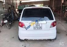 Bán xe Daewoo Matiz SE sản xuất 2007, màu trắng xe gia đình giá cạnh tranh