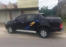 Cần bán lại xe Toyota Hilux sản xuất 2009, màu đen