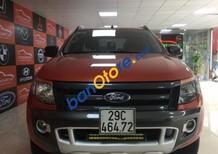 Bán Ford Ranger Wildtrak 3.2 năm 2015, màu đỏ, 670tr