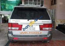 Bán xe Ssangyong Musso năm sản xuất 2002, màu bạc, giá 160tr