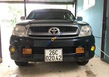 Bán ô tô Toyota Hilux E sản xuất năm 2009, màu đen, nhập khẩu