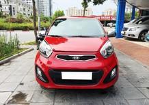 Bán xe Kia Morning năm sản xuất 2014, màu đỏ, xe nhập số tự động, giá 345tr