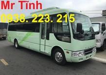 Bán xe 29 chỗ Fuso Rosa 29 chỗ, đòn dài 7m7, giá rẻ Thaco phân phối